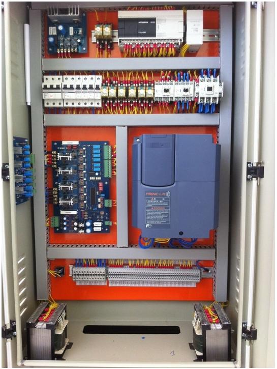 Tủ điện sử dụng hệ điều khiển VVVF